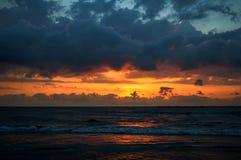 Mar Nero nel primo mattino Immagine Stock