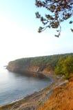 Mar Nero si è isolato la spiaggia, Bulgaria Fotografia Stock