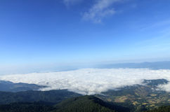 Mar-niebla Fotos de archivo libres de regalías