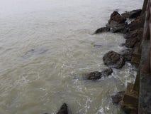 Mar no céu da manhã Imagem de Stock Royalty Free