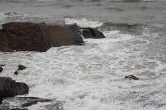 Mar no inverno Imagem de Stock