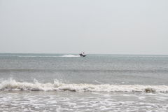 Mar no inverno Imagens de Stock Royalty Free