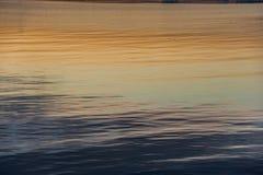 Mar no por do sol Imagens de Stock Royalty Free