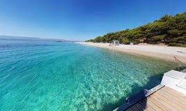 Mar o Adriático imagem de stock