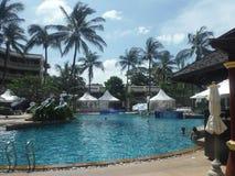 Mar, océano, el Caribe, Andaman, playa, centro turístico, sunprotection, sol, agua, arena Imagen de archivo libre de regalías
