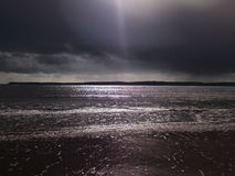 Mar oscuro Fotografía de archivo libre de regalías