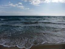 Mar oscuro Imágenes de archivo libres de regalías