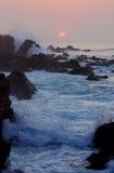 Mar pacífico imagens de stock royalty free