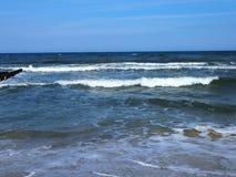 Mar Paisaje hermoso fotografía de archivo libre de regalías