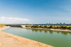 Mar park in Palma de Majorca Spain Royalty Free Stock Images