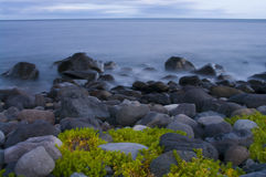 Mar-pedazo de la tarde Imagen de archivo libre de regalías