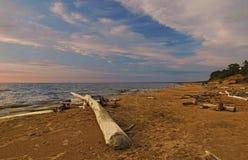 Mar-pedazo de la tarde Fotografía de archivo