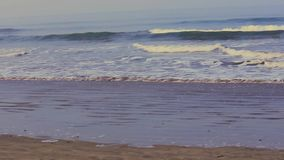 Mar - playa almacen de metraje de vídeo