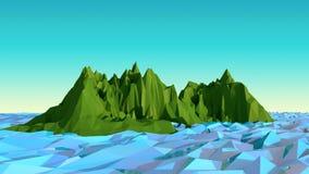 Mar polivinílico bajo del ejemplo Fotos de archivo