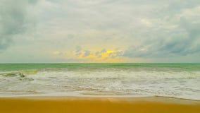 Mar por la tarde imagen de archivo
