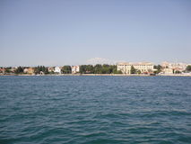 Mar por Zadar Kroatia Foto de Stock Royalty Free