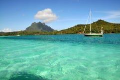 Mar prístino de Bora Foto de archivo