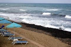 Mar, praia Fotografia de Stock