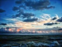 Mar que rabia Fotos de archivo