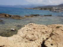 Mar rochoso Fotos de Stock