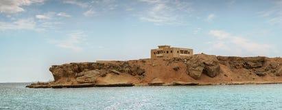 Mar Rojo de la roca Foto de archivo libre de regalías