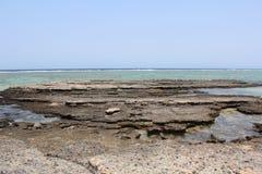 Mar Rojo Egipto de la playa del Mar Rojo Foto de archivo