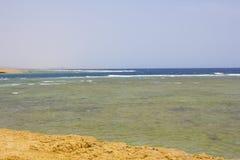 Mar Rojo Egipto de la playa del Mar Rojo Foto de archivo libre de regalías