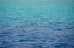 Mar Rojo, fondo, agua azul limpia foto de archivo libre de regalías
