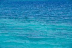 Mar Rojo, fondo, agua azul limpia imagen de archivo