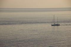 Mar romántico Foto de archivo libre de regalías