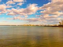 Mar Rosso dorato fotografia stock libera da diritti