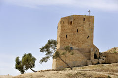 Mar Saba convent guesthouse, Israel. Stock Image