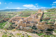 Mar Saba monastery Royalty Free Stock Images