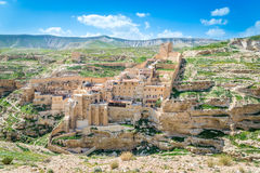 Mar Saba monastery Royalty Free Stock Image