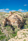 Mar Saba monastery Royalty Free Stock Photo