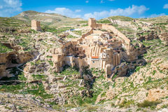 Mar Saba monastery Stock Photos