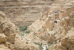 Mar Sabas monastery Stock Photography