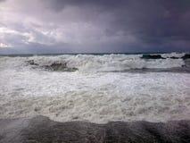 Mar salvaje Foto de archivo