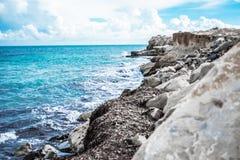 Mar salvaje Fotos de archivo libres de regalías