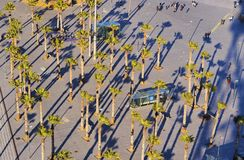 Mar Square in Barcelona Stock Photography