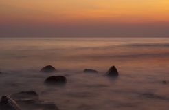 Mar suave Foto de archivo