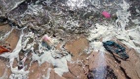 Mar sucio Foto de archivo