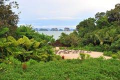 Mar tailandés, Krabi Tailandia Imágenes de archivo libres de regalías