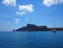 Mar tailandés, mar de andaman fotos de archivo
