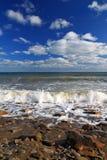 Mar tempestuoso Fotos de archivo