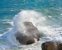 Mar tempestuoso Foto de archivo libre de regalías