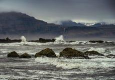 Mar tempestuoso Imagen de archivo libre de regalías
