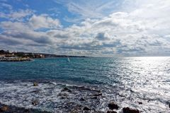 Mar Tirreno immagine stock libera da diritti