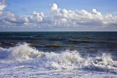 Mar tormentoso Imagem de Stock