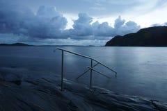 Mar tranquilo Fotografía de archivo